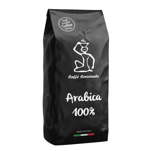 Zrnková pražená káva Caffé Corcovado 100% Arabica 1 kg