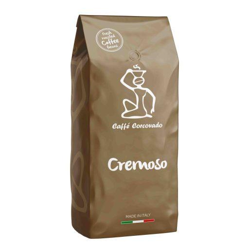 Zrnková pražená káva Caffé Corcovado Cremoso 1 kg