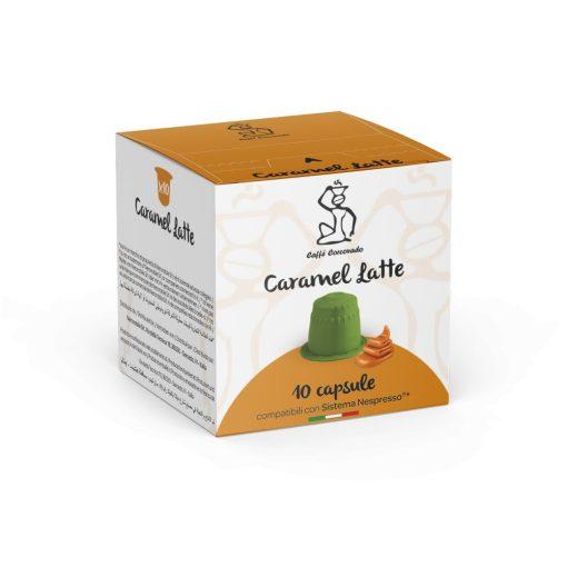Kávová kapsula Caramel Latte kompatibilná s Nespresso 10 ks