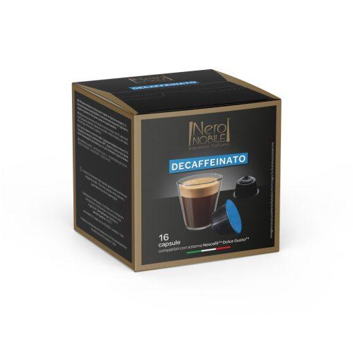Bezkofeínová kávová kapsula kompatibilná s Dolce Gusto 16 ks