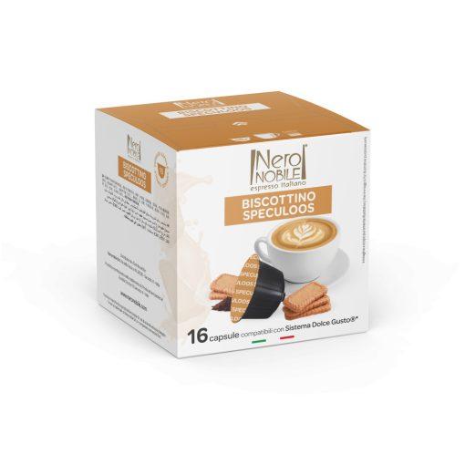 Kávová kapsula so škoricovými sušienkami kompatibilná s Dolce Gusto 16 ks