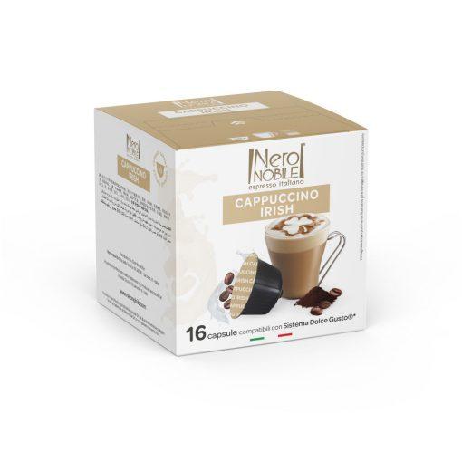 Cappuccino s írskym krémovým likérom v kapsule kompatibilnej s Dolce Gusto 16ks