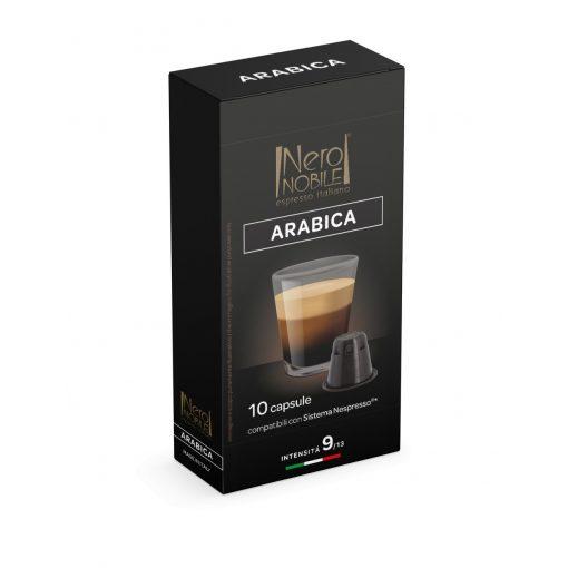 Kávová kapsula Arabica kompatibilná s Nespresso 10 ks