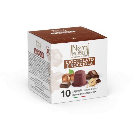 Orieškovo-čokoládová kapsula kompatibilná s Nespresso 10 ks