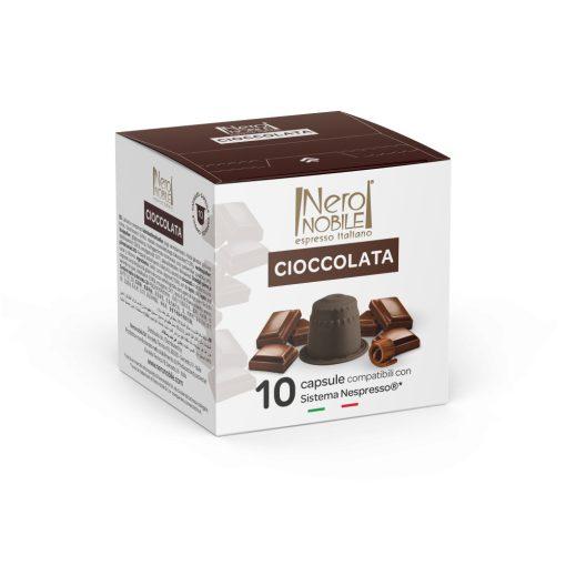 Kapsula horúcej čokolády Cioccolata kompatibilná s Nespresso 10 ks