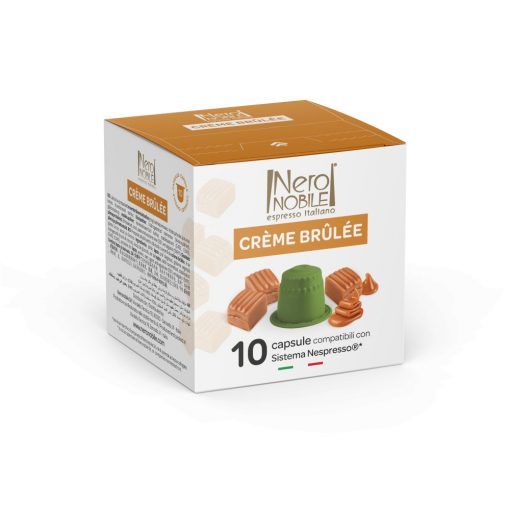 Kávová kapsula Creme Brulee pre kávovary Nespresso 10 ks