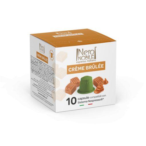 Kávová kapsula Creme Brulee kompatibilná s Nespresso 10 ks