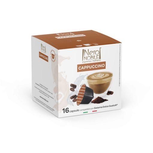 Kávová kapsula Cappuccino kompatibilná s Dolce Gusto 16 ks