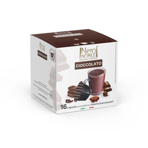 Horúca čokoláda Cioccolata v kapsule kompatibilnej s Dolce Gusto 16 ks