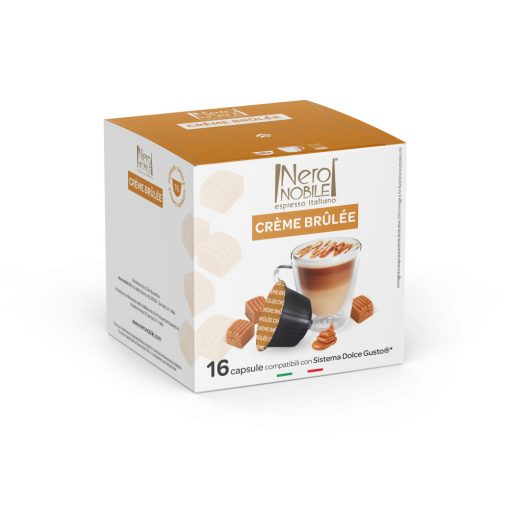 Kávová kapsula Creme Brulee kompatibilná s Dolce Gusto 16 ks