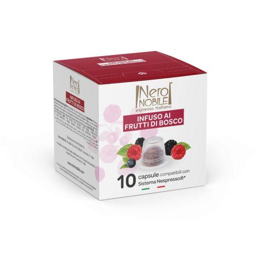 Čajová kapsula lesná zmes kompatibilná s Nespresso 10 ks