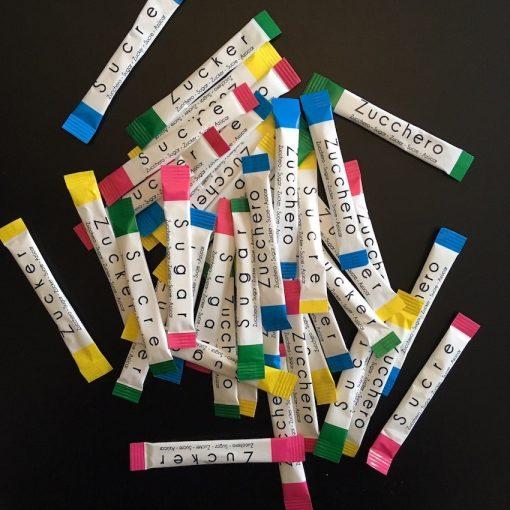 Biely cukor do kávy 4 g x 250 ks